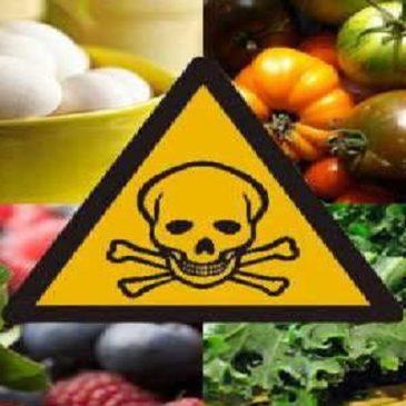 Il nostro cibo è avvelenato dai pesticidi!