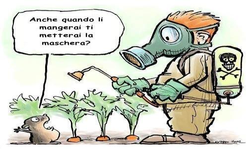 pesticidi irrorazione vignetta - laviadiuscita.net