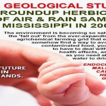 L'erbicida Roundup è presente nel 75% dei campioni di aria e pioggia