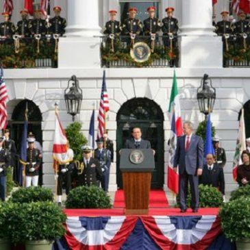 """Scie Chimiche: l'accordo segreto dei criminali Bush & Berlusconi. Svelati tutti i misteri e le menzogne tra stati """"alleati"""""""