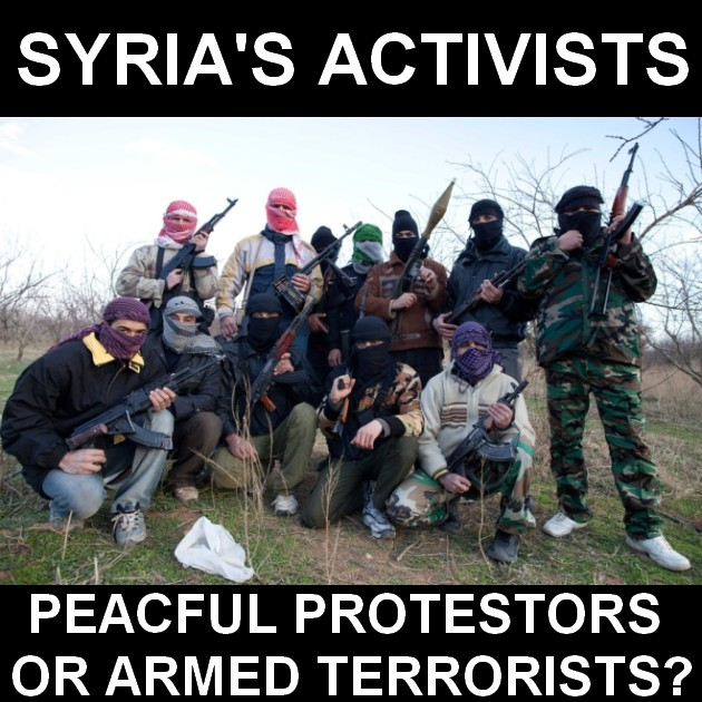 syria-activists-peaceful-protestors-or-armed-terrorists