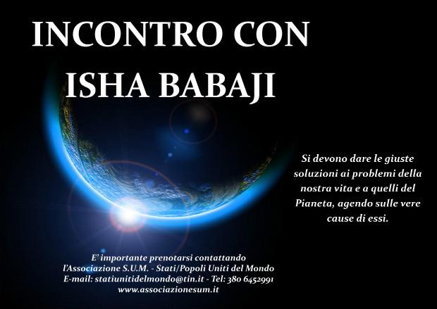 incontro con il maestro isha babaji laviadiuscita.net