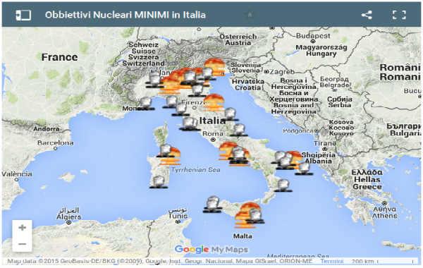 Obbiettivi Nucleari In Italia laviadiuscita.net