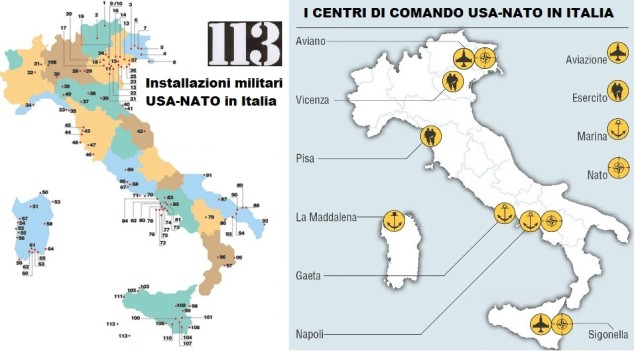 basi usa nato in italia laviadiuscita.net