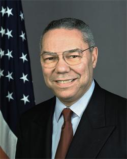 Colin Powell, 65° Segretario  degli Stati Uniti d'America