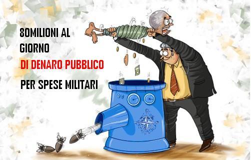 spese-militari italia al giorno laviadiuscita.net