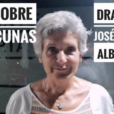 LA DR MARIA ALBARRACÍN SUGLI EFFETTI DEL VACCINO