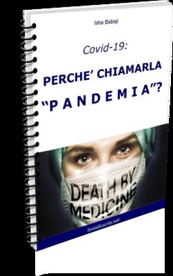 COVID-19: Perché chiamarla Pandemia? Nuovo eBook Gratuito